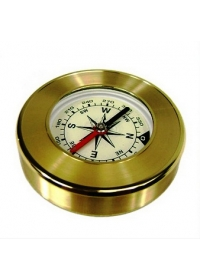 Bússola de bolso Aço Inox Douradaog:image